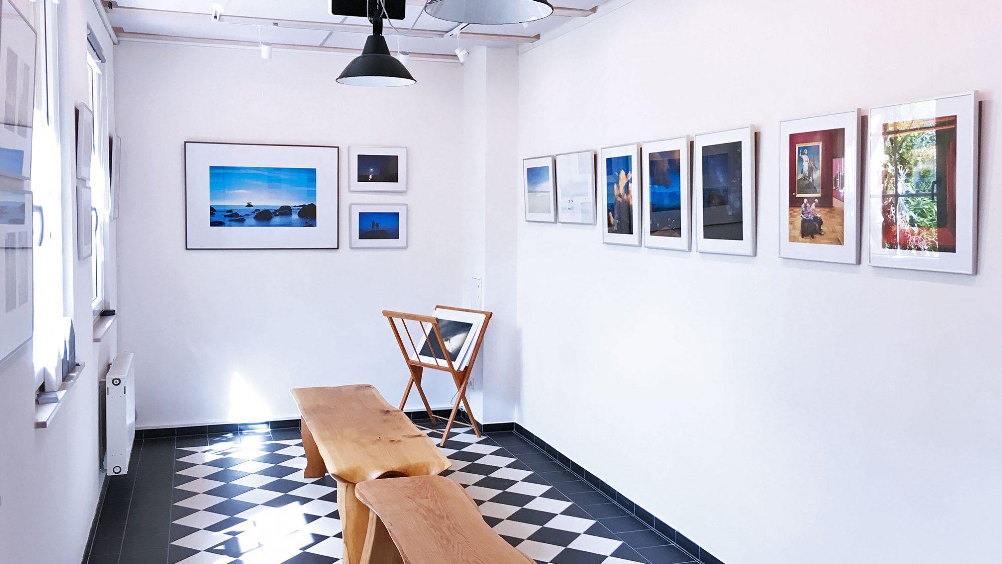 Bleu Blau Blue - Galerie Remise 56 Strausberg bei Berlin