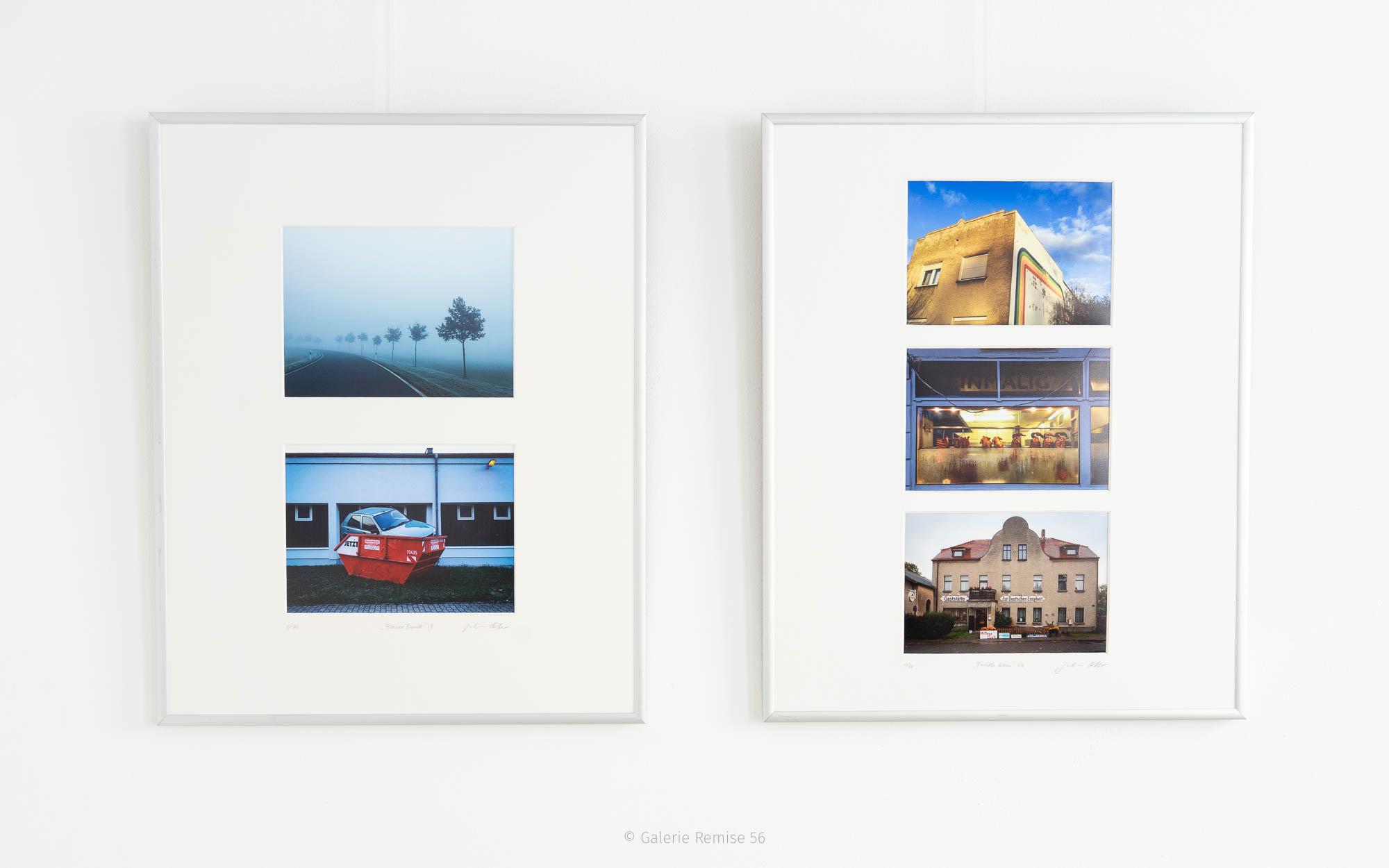 Ausstellung Bleu, Blau, Blue - Julia Otto und Sven Dreißig Strausberg